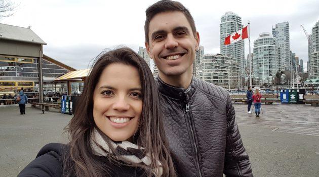 O casal que mora no Canadá fala sobre um lugar especial em Vancouver