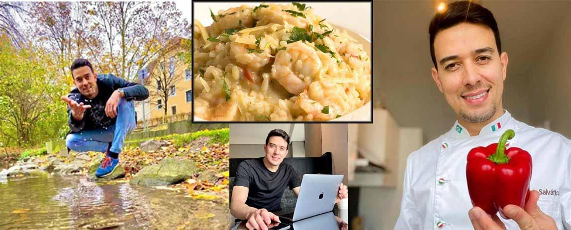 Chef Thiago Salvático dá dicas para a Ceia de Natal e fala sobre a sua vida na Alemanha