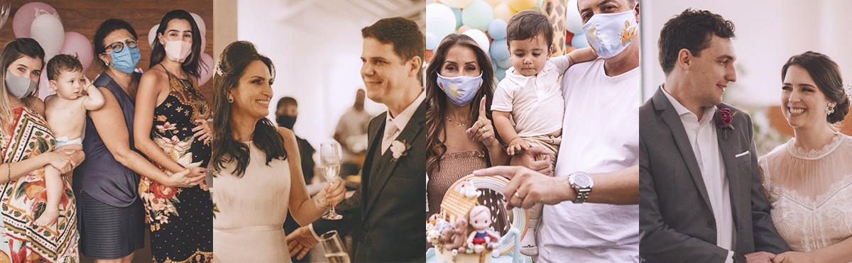 Comemorações em pandemia: menores e sem a presença de convidados. Onde faltam abraços sobram criatividade e amor!